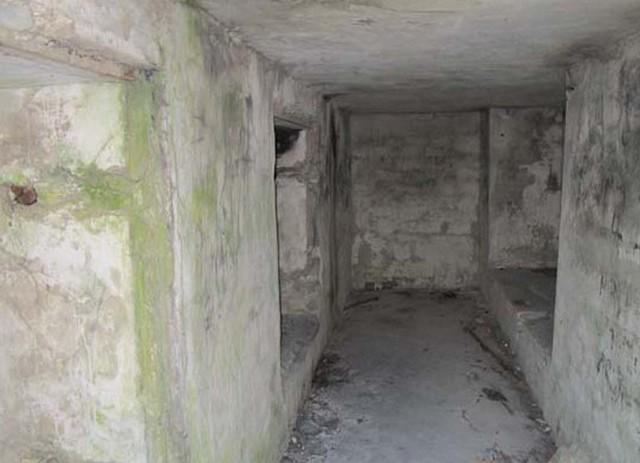 Батарея - сохранившиеся сооружения
