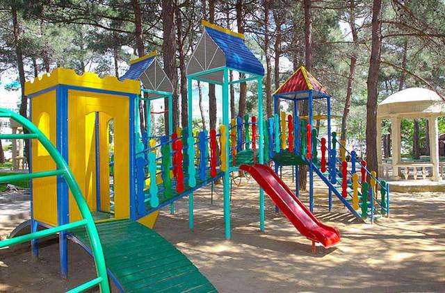 детская площадка ЛОК Солнечная