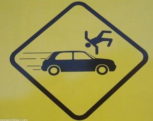 Автомобиль и пешеход
