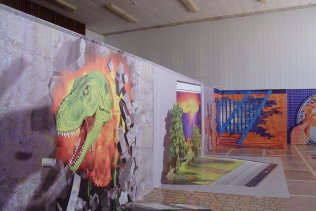 Выставка 3D-картин