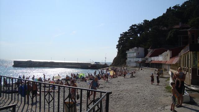Джанхот - пляж