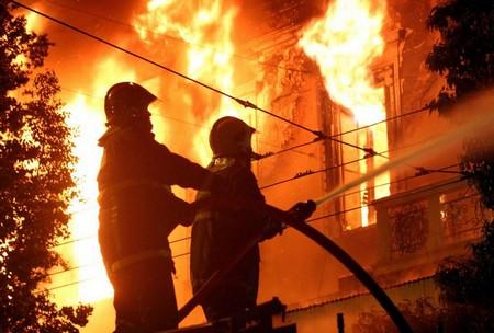 Пожары в Краснодарском крае