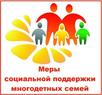 Меры социальной поддержки многодетных семей
