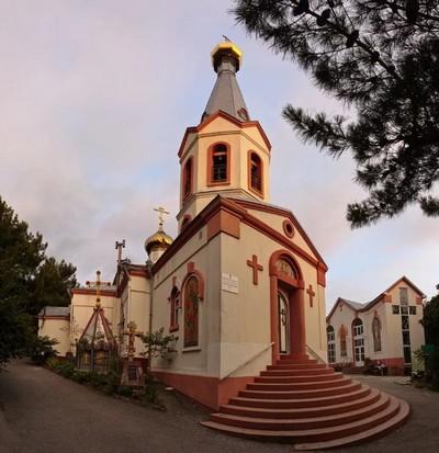 Свято-Преображенском храме Геленджика