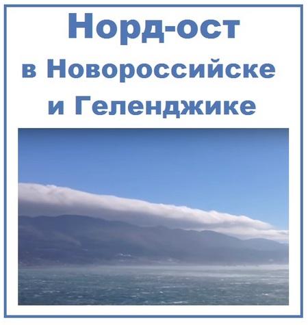 Норд-ост в Новороссийске и Геленджике