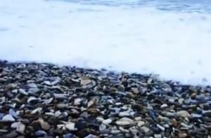 Галечный пляж Дивноморское