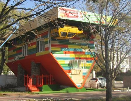 Перевернутый дом в Геленджике