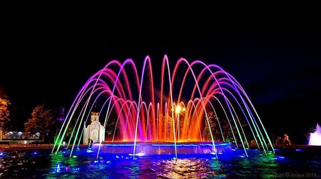Анапа фонтан