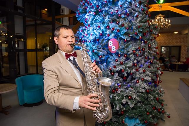 Саксофон на Новый год