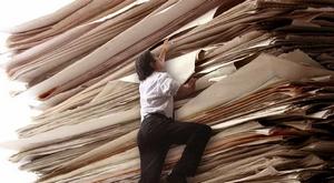 Горы документов