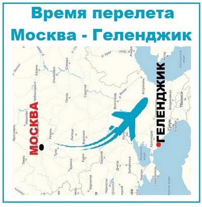 Карта Москва Геленджик