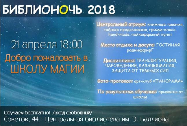 Библионочь Новороссийск
