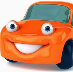 Веселый автомобиль