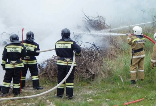Учения пожар 2