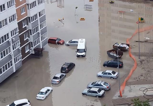 Затопило Новороссийск 1