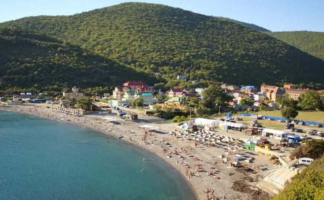 Пляж А-Д