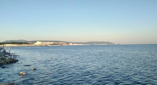 Пляж в открытом море