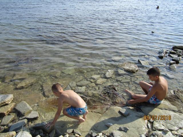 Дикий пляж Тонкий мыс 8 июля 3