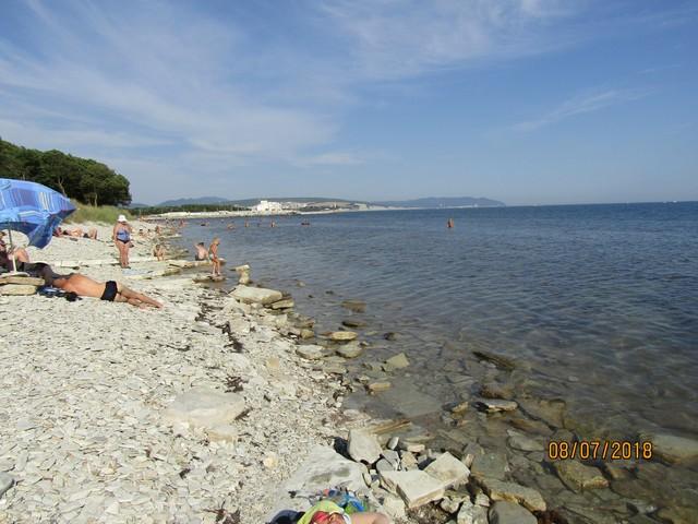 Дикий пляж Тонкий мыс 8 июля