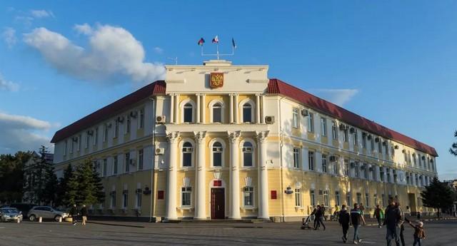 Здание администрации Геленджика