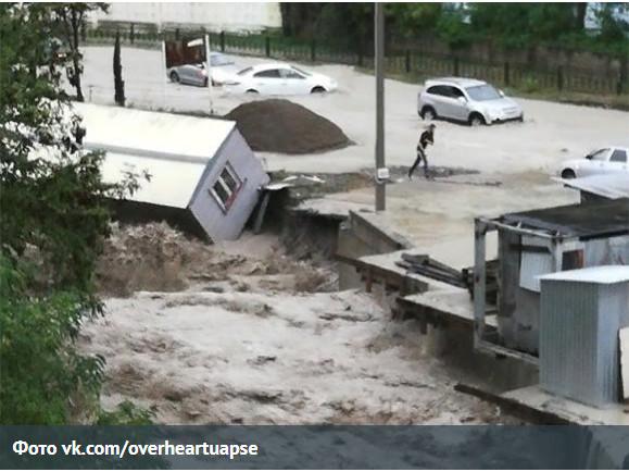 Потоп в Туапсе