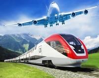 Поезд самолет