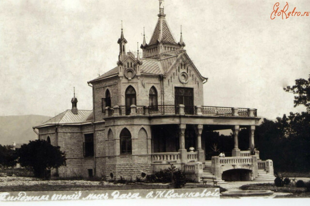 Дача Волчковой, 1917 год