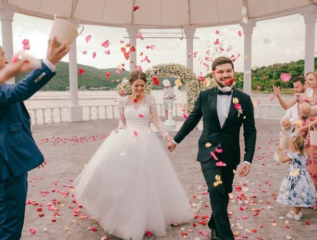 Свадьба в Абрау-Дюрсо