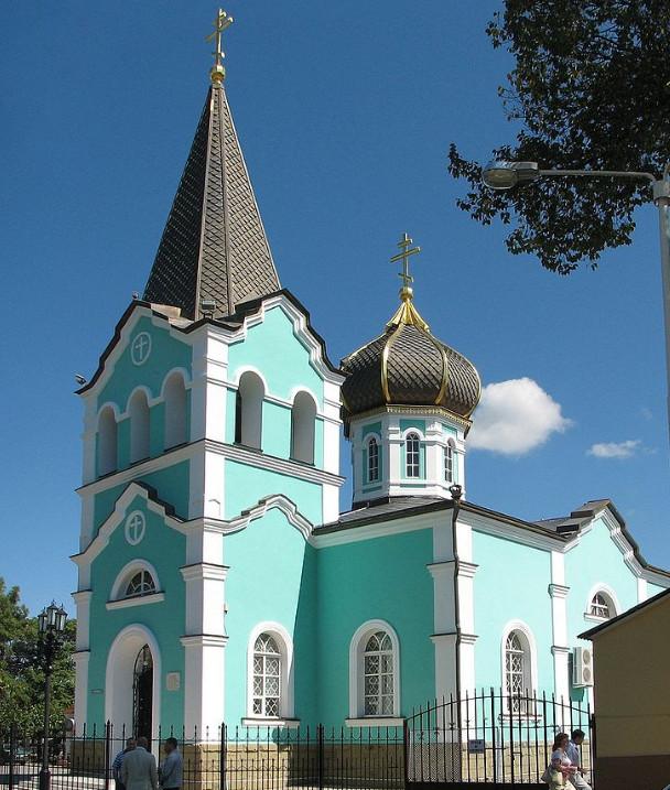 Свято-Онуфриевский храм в Анапе