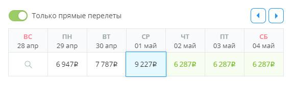 Самолет Москва - Анапа