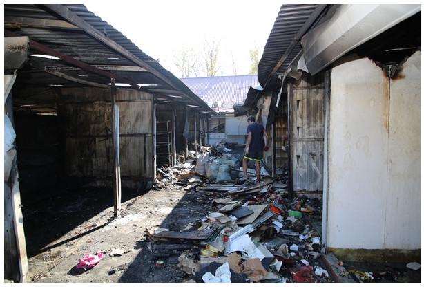 Рынок после пожара 2