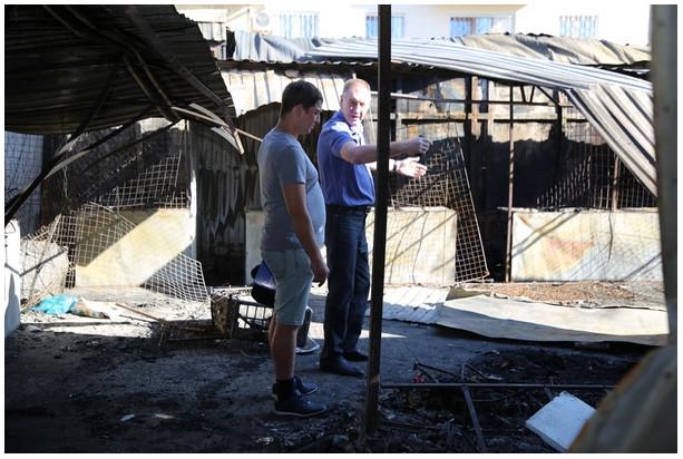 Рынок после пожара 3