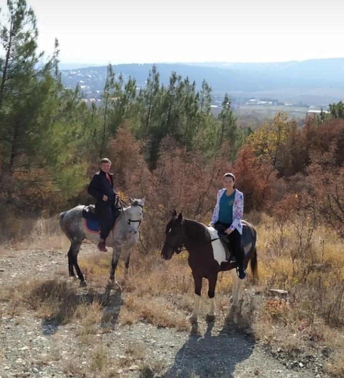 Марьина роща - конные прогулки в горы
