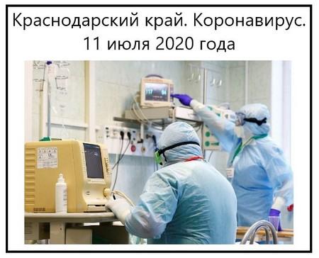 Коронавирус 11 июля 2020 года