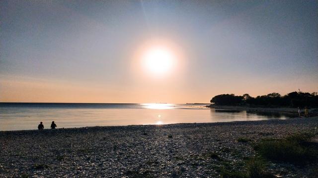 Пляж в открытом море 15 сентября 2020 года